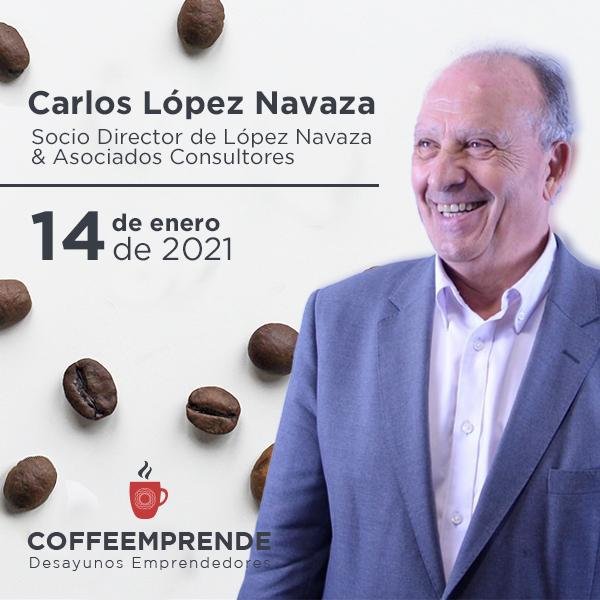 Coffeemprende enero con Carlos López Navaza