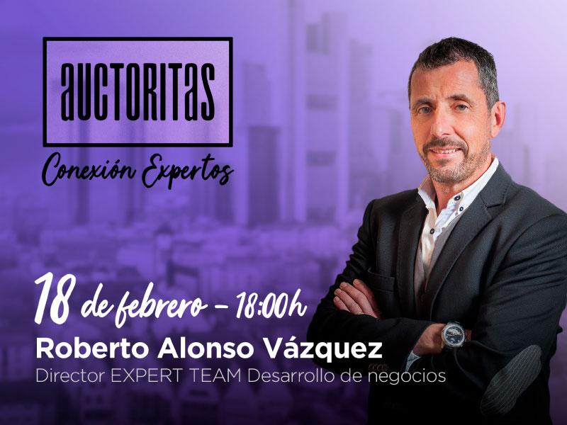 evento online con Roberto Alonso Vázquez